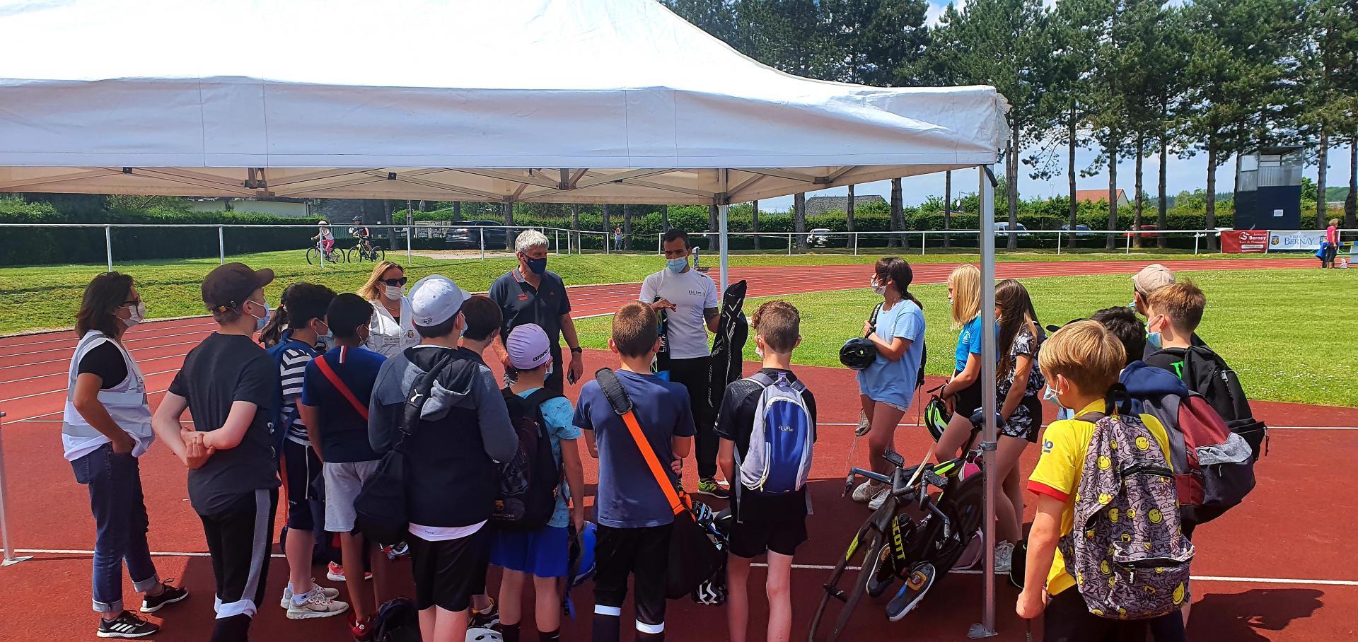 Découverte du Triathlon pour les jeunes de Bernay