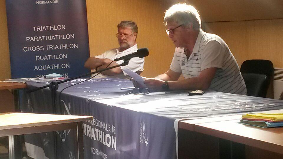 Assemblée Générale Elective de la Ligue de Normandie de Triathlon