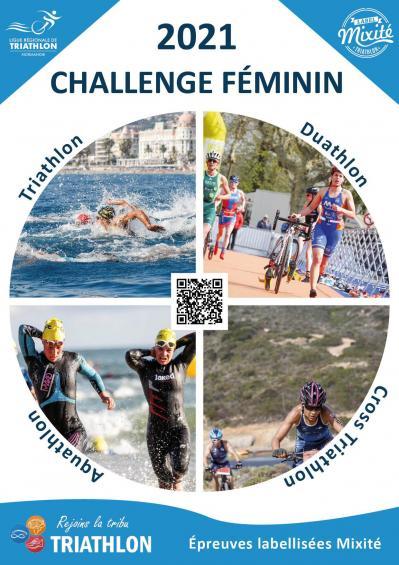 Affiche challenge mixite
