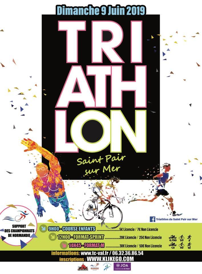Résultats Triathlon de Saint Pair sur Mer
