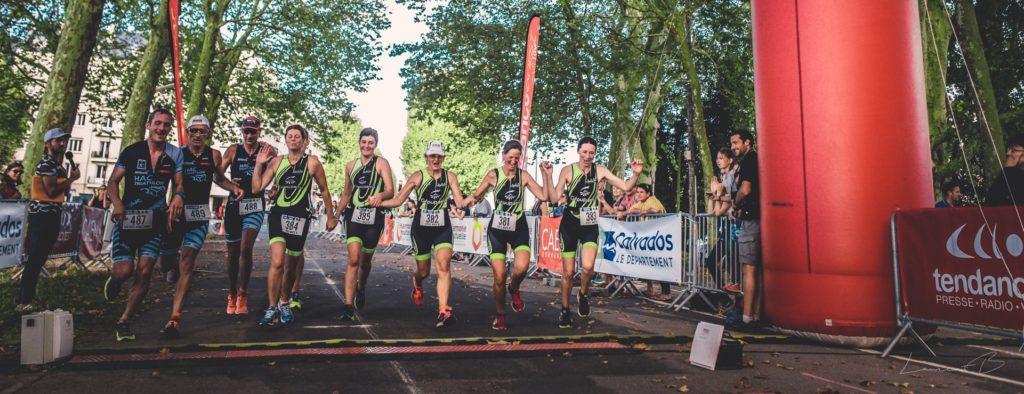 Résultats du triathlon de Caen