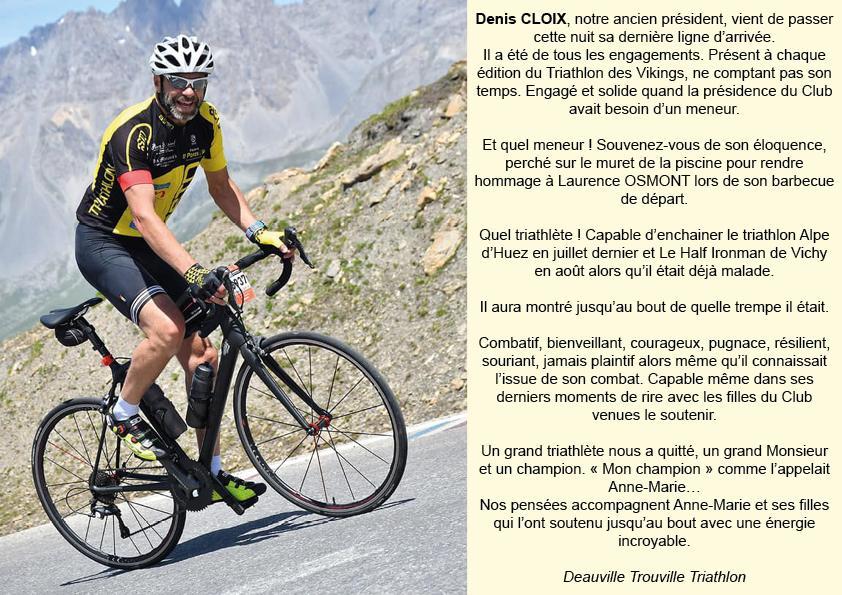 Denis Cloix - Deauville Trouville Triathlon