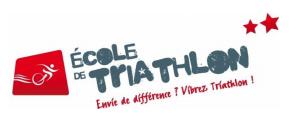 Ecole de triathlon 2 etoiles