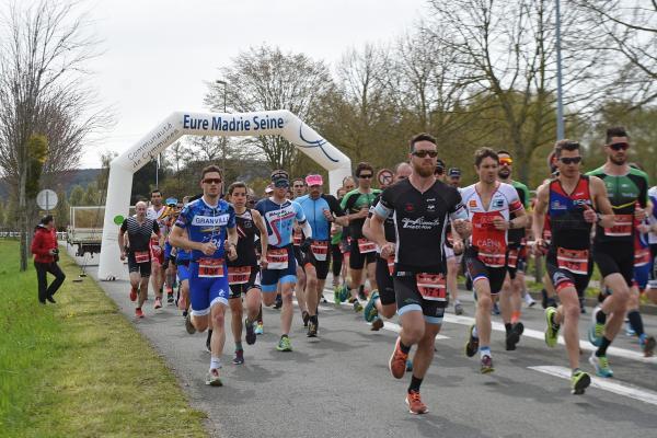 Résultats du duathlon de Team Val Eure (Gaillon)